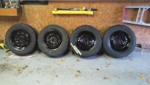 Used TOYO winter tires on 2008 Honda Odyssey winter rims...