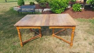 """Large antique Dining Table 44"""" by 64"""" Chabby Chic Country Style"""