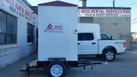 PORTABLE WASHROOM on a Trailer for Rent!!!