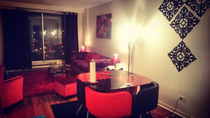 Beautiul 4 1/2 downtown available immediately