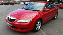 2003 Mazda 6 GG Classic Red 5 Speed Manual Sedan Georgetown Newcastle Area Preview