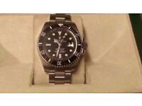 rolex submariner brushed strap rolex wave box and papers included