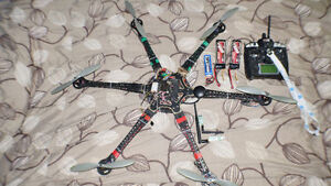 Drone RCT800 Hexacopter - Long range - High payload