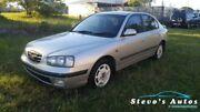 2001 Hyundai Elantra XD GL Silver 5 Speed Manual Sedan Urraween Fraser Coast Preview