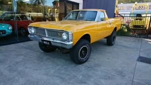 1972 Ford Falcon XY 4x4 Yellow 3 Speed Manual Utility Capalaba Brisbane South East Preview