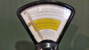 Canada Post Air Mail Scale 1957 Kingston Kingston Area image 2