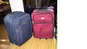 2 carry-on luggages