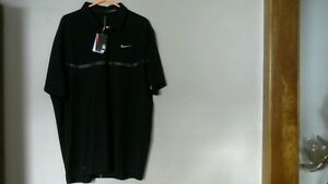 "NIKE TIGER WOODS COLLECTION ""DRI-FIT"" GOLF POLO Shirt"