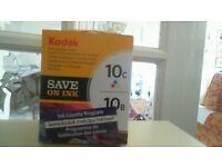 Toner cartridge for Kodak printer 10C 10B ink combo pack.