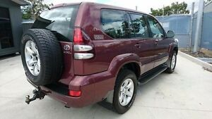 2005 Toyota Landcruiser Prado Red Automatic Wagon Maryborough Fraser Coast Preview