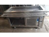 Mobile pre-used cold display counter