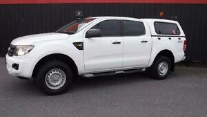 2012 Ford Ranger PX XL White Auto Sports Mode Utility Moorabbin Kingston Area Preview