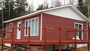 Waterfront Cabin in Howley!