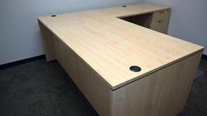 Used L-shape desks