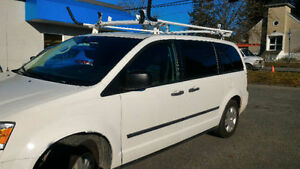 2010 Dodge Grand Caravan (cargo), Ladder Rack + Shelving