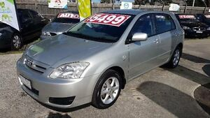 2006 Toyota Corolla ZZE122R Ascent Seca Silver 5 Speed Manual Hatchback Maidstone Maribyrnong Area Preview
