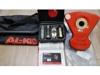 ALKO WHEEL LOCK - SECURE COMPACT KIT 33 - for all Bailey 2014/15 caravans as per description