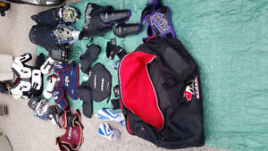 Various Sporting Protective Equipment