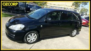 2008 Toyota Avensis ACM21R Verso GLX Black 4 Speed Automatic Wagon Homebush Strathfield Area Preview