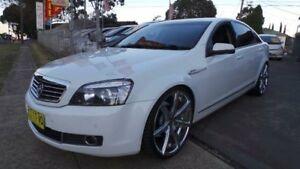 2007 Holden Statesman White Sports Automatic Sedan