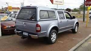 2004 Holden Rodeo RA LT Crew Cab Grey 5 Speed Manual Utility Victoria Park Victoria Park Area Preview