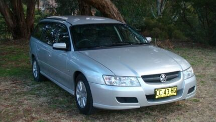 2005 Holden Commodore VZ Acclaim Silver 4 Speed Automatic Wagon Oaks Estate Queanbeyan Area Preview