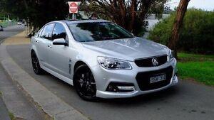 2014 Holden Commodore VF MY14 SS V Redline Silver 6 Speed Manual Sedan Hobart CBD Hobart City Preview