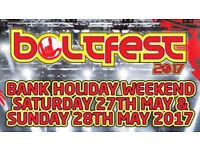 Wanted vIP Entry for Boltfest Sat 27 May Can pay Cash or paypal