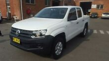 2012 Volkswagen Amarok 2H MY12 TDI400 (4x2) White 6 Speed Manual Dual Cab Utility Georgetown Newcastle Area Preview