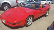 1987 Chevrolet Corvette C4 Red Automatic Coupe Laverton North Wyndham Area Preview