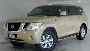 2013 Nissan Patrol Y62 TI-L Gold 7 Speed Sports Automatic Wagon Hobart CBD Hobart City Preview
