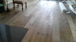 Hardwood , or Laminate installation$1/sqft