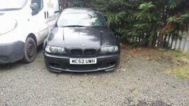 BMW E46 M-sport 2003 front bumper