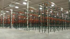 Huge pallet racking deal - Lot étageres  industrielles redirack