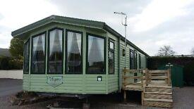 sited static caravan for saloe