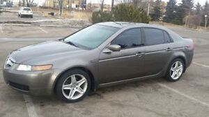 2006 Acura TL Grey 4Dr,Leather int,Tinted,Well maint Car