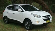 2014 Hyundai ix35 LM3 MY14 Elite AWD White 6 Speed Sports Automatic Wagon Oaks Estate Queanbeyan Area Preview