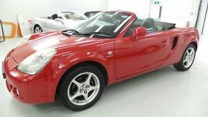 2004 Toyota Mr2 ZZW30R S2 Spyder Red 6 Speed Seq Manual Auto-Clutch Convertible Artarmon Willoughby Area Preview