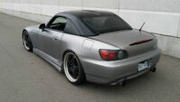 2001 Honda S2000 - Mugen Hardtop - SSR Wheels - JIC Suspension