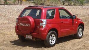 2011 Suzuki Grand Vitara JB MY09 Prestige Red 4 Speed Automatic Wagon