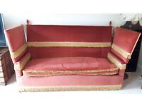 Antique Parker Knoll 4 seater sofa