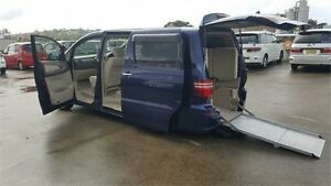2007 Toyota Alphard ANH10W Blue Automatic North Manly Manly Area Preview