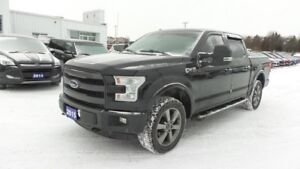 2015 Ford F-150 Lariat 4x4 3.5L V6 Eco, 365Hp, Leather, Moon, Na