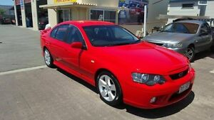 2006 Ford Falcon BF MkII XR6 Red 4 Speed Auto Seq Sportshift Sedan Coopers Plains Brisbane South West Preview