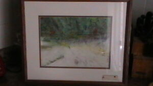 Original 1980 Myers Watercolor