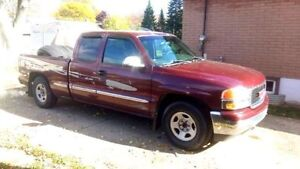 2002 GMC Sierra 1500 Extended Cab Pickup Truck