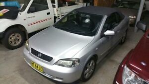 2002 Holden Astra TS Convertible Silver 5 Speed Manual Convertible Macquarie Hills Lake Macquarie Area Preview