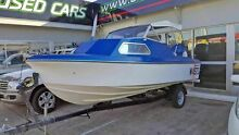 1983 HAINES HUNTER 16C HALF CABIN Boat Caboolture Caboolture Area Preview