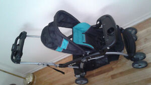 Double stroller, infant car seat and booster car seat Kingston Kingston Area image 2