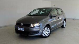 2013 Volkswagen Polo 6R MY13.5 Trendline Grey 5 Speed Manual Hatchback Hobart CBD Hobart City Preview